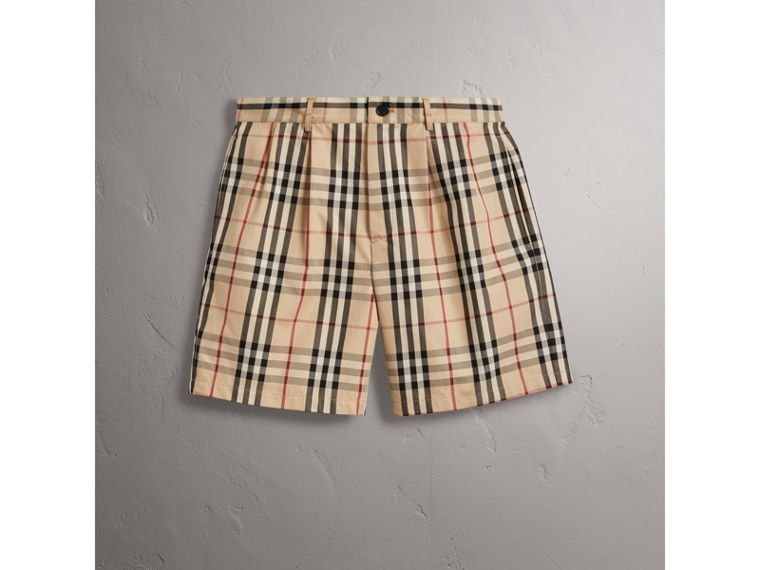 Gosha x Burberry Tailored Shorts in Honey | Burberry - cell image 4