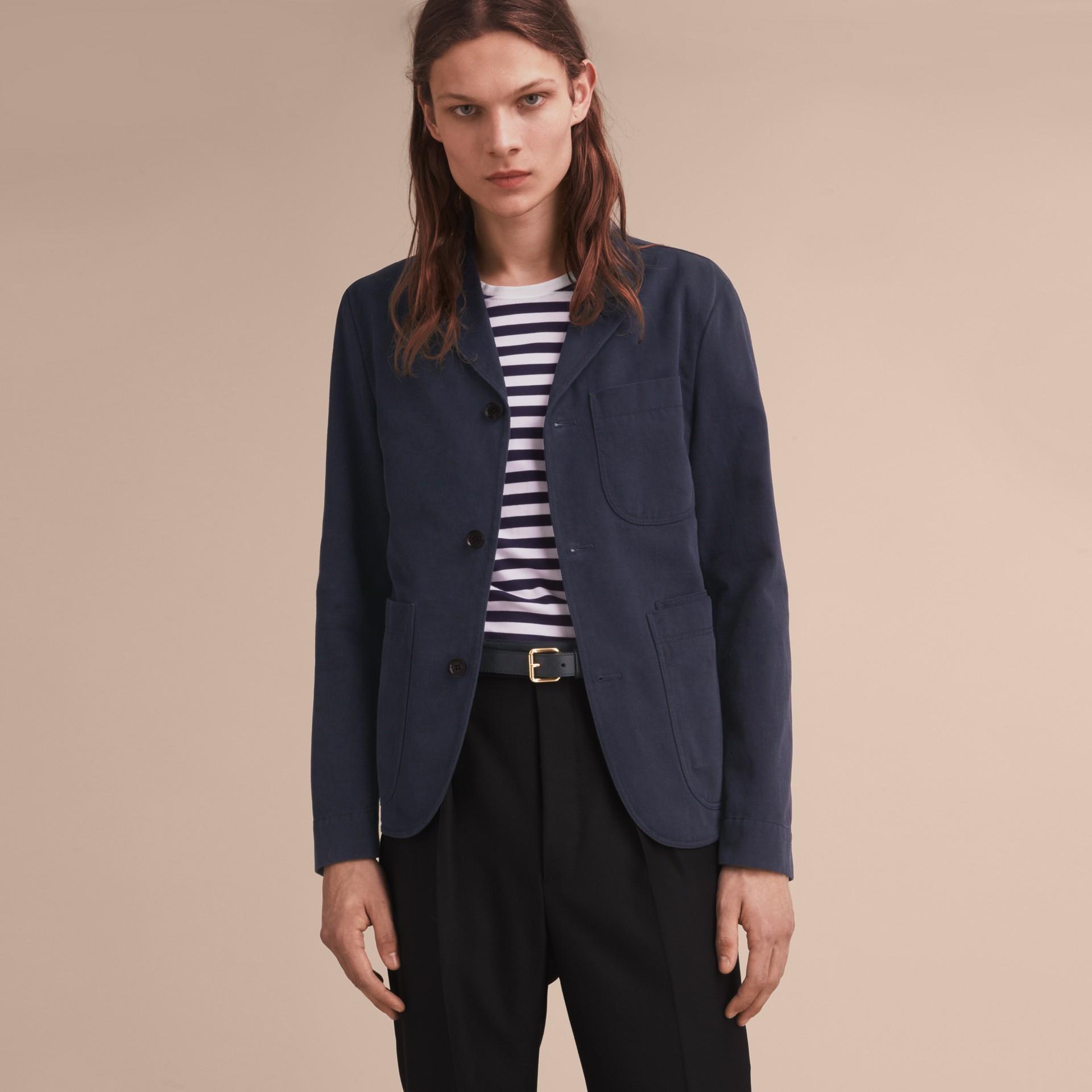 Cotton Workwear Jacket - gallery image 7