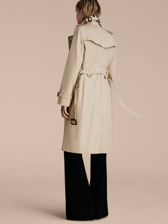 Stone The Kensington – Extra-long Heritage Trench Coat Stone - cell image 2