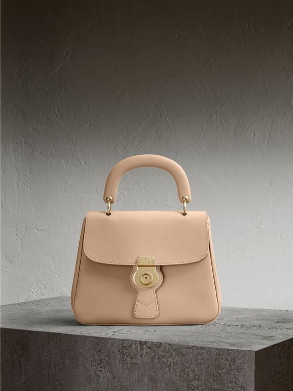 The Medium DK88 Top Handle Bag in Honey - Women | Burberry