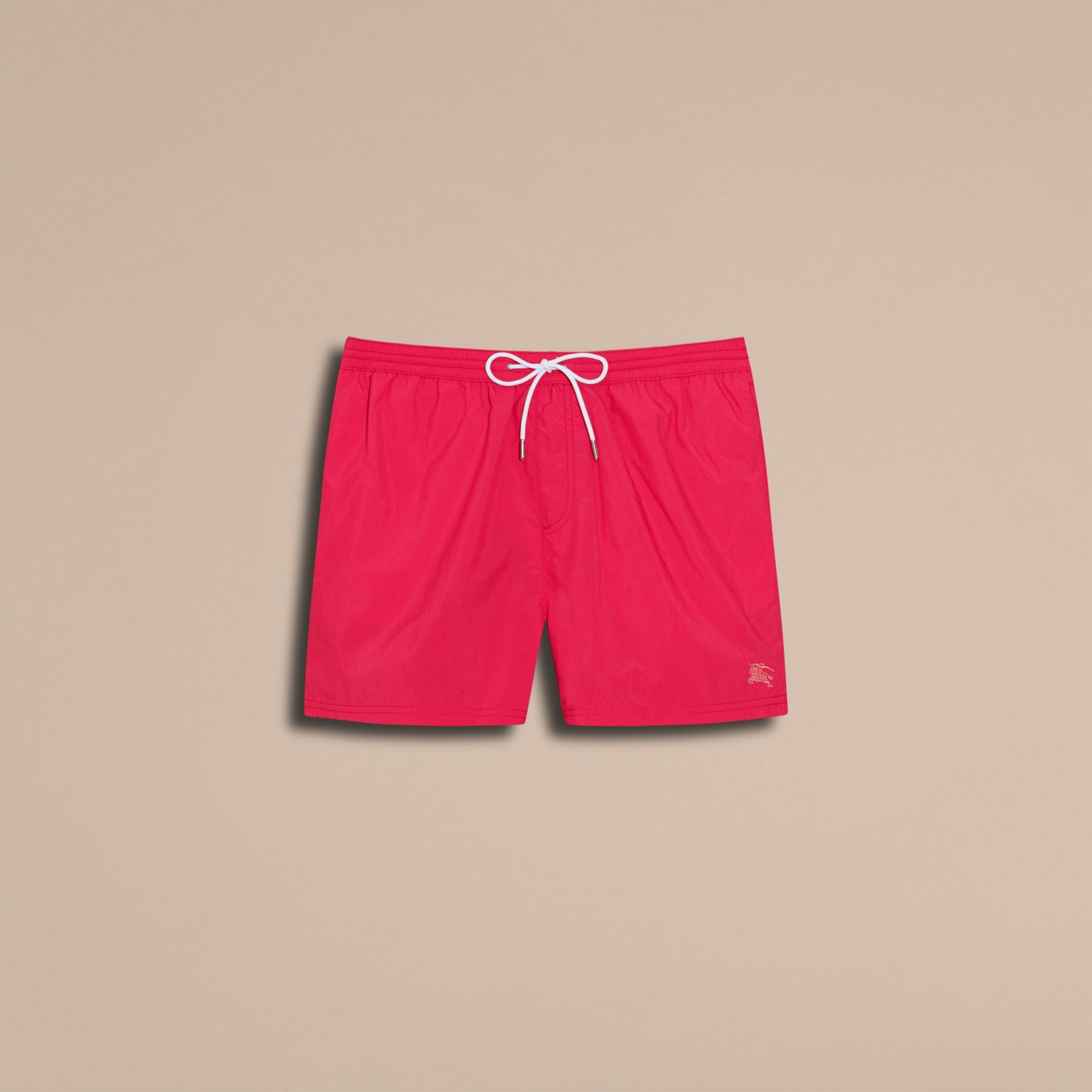 Bright crimson pink Lightweight Swim Shorts - gallery image 4