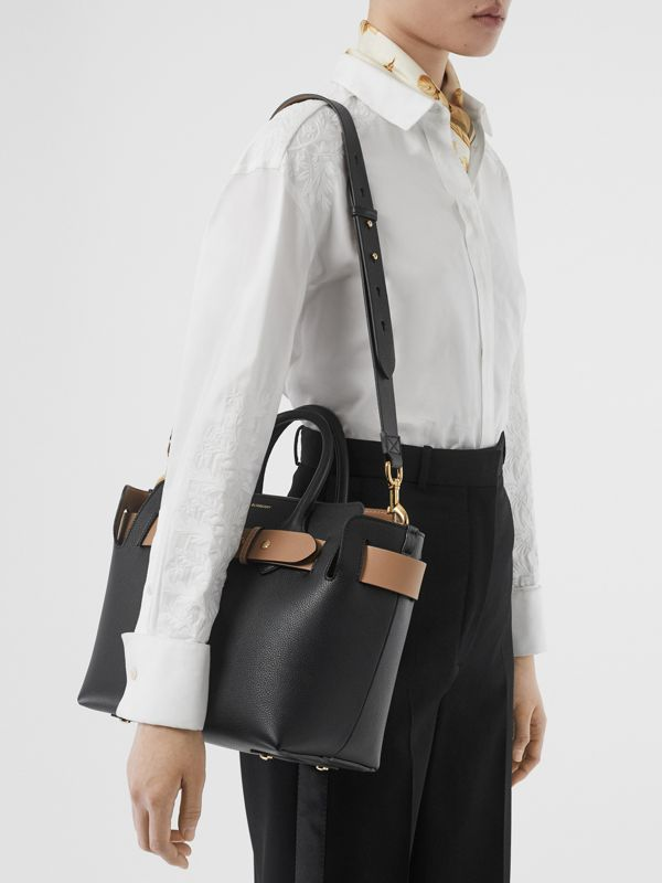 The Small Leather Triple Stud Belt Bag in Black - Women | Burberry Canada - cell image 2
