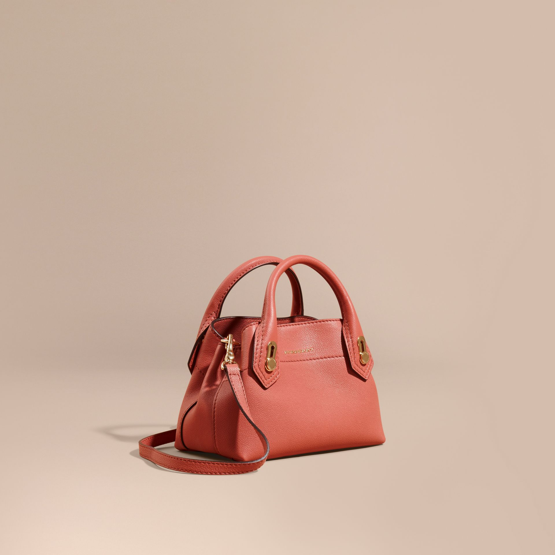 Copper pink The Baby Milton in Grainy Leather Copper Pink - gallery image 1