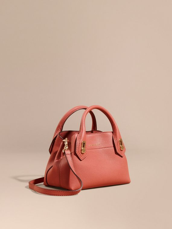 The Baby Milton in Grainy Leather Copper Pink