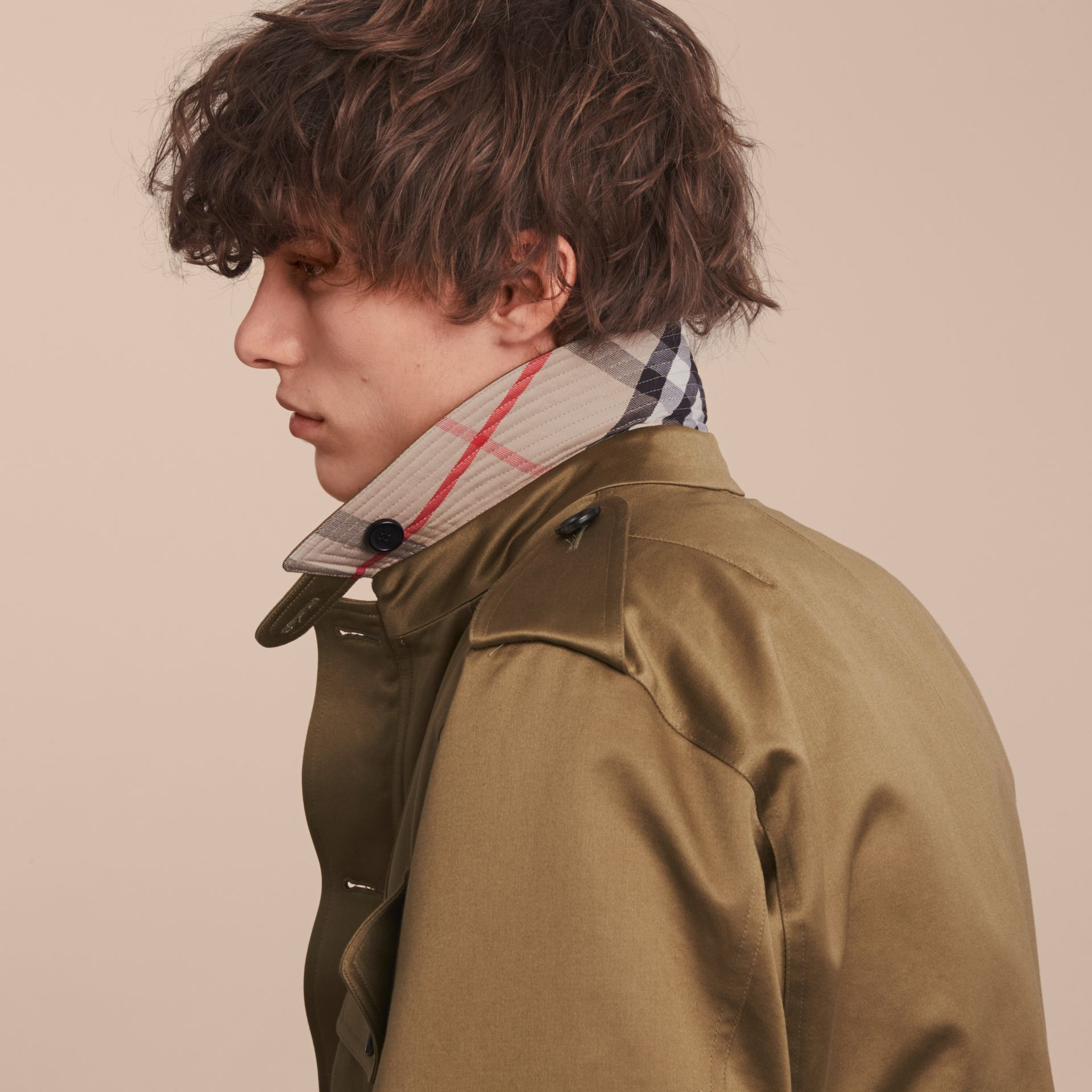 Cotton Field Jacket with Detachable Warmer - gallery image 6
