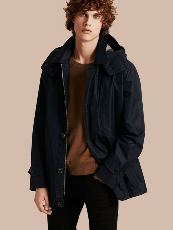 Showerproof Cotton Blend Jacket