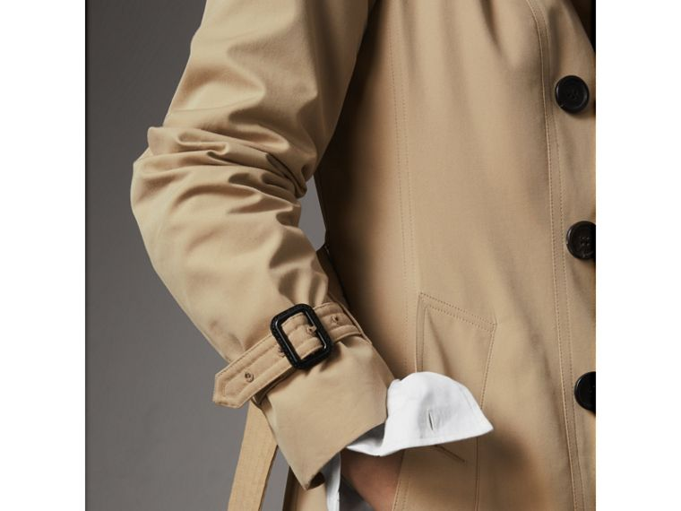 The Sandringham – Mid-length Trench Coat in Honey - Women | Burberry Australia - cell image 4