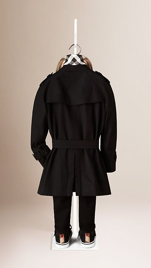 Black The Wiltshire - Heritage Trench Coat - Image 2