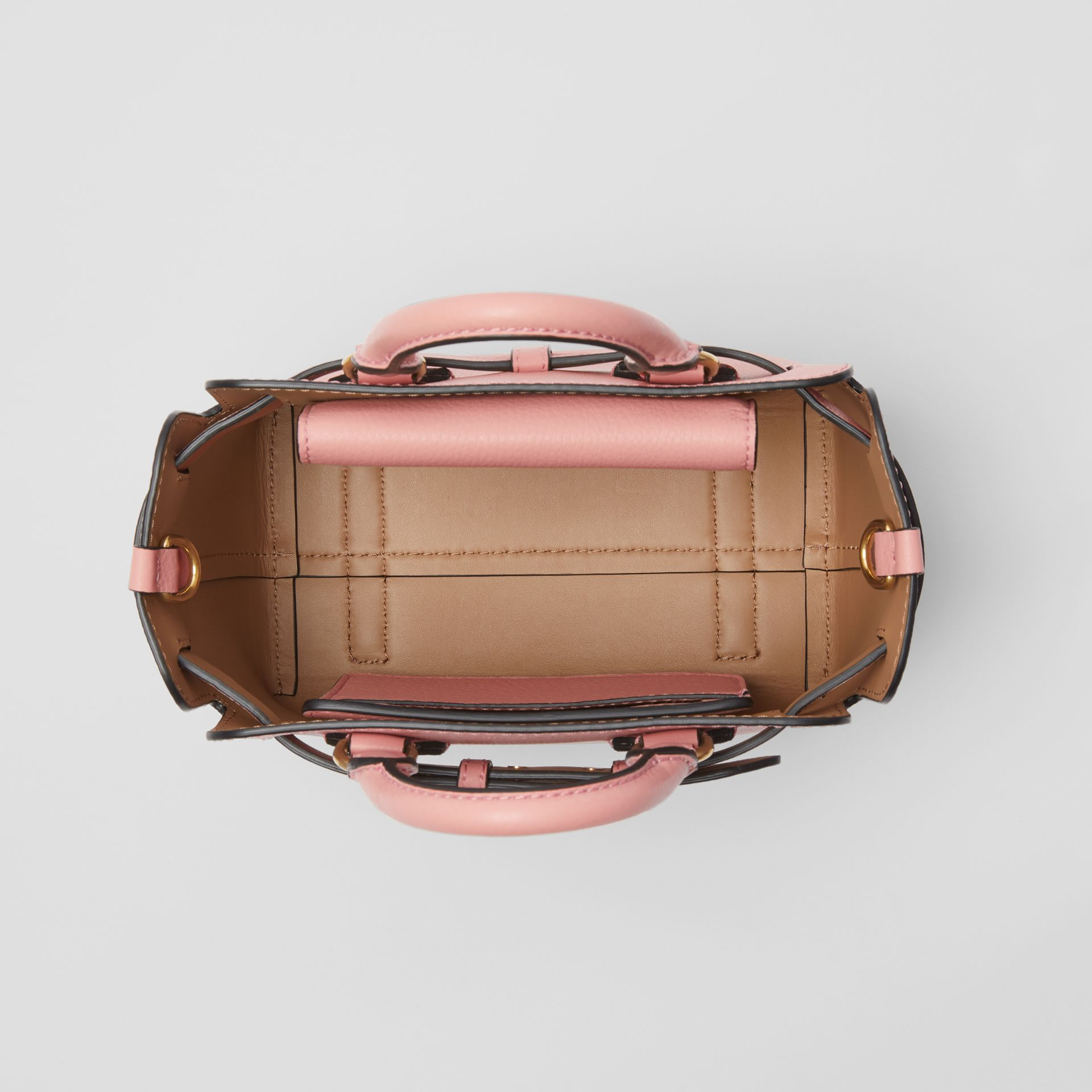 The Mini Leather Belt Bag in Ash Rose - Women | Burberry - gallery image 5