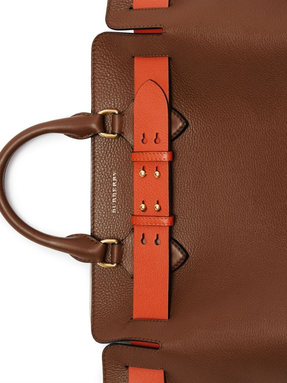 The Medium Leather Belt Bag in Tan - Women | Burberry Australia - cell image 1