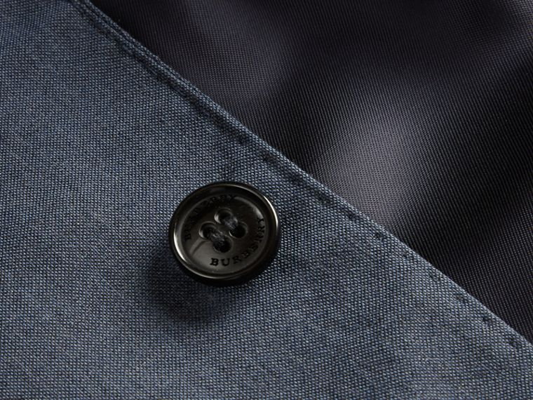 Single-breasted Wool Blazer in Airforce Blue - Boy | Burberry Canada - cell image 1