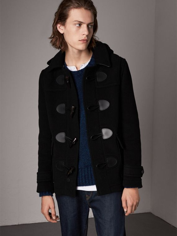 The Plymouth Duffle Coat in Black