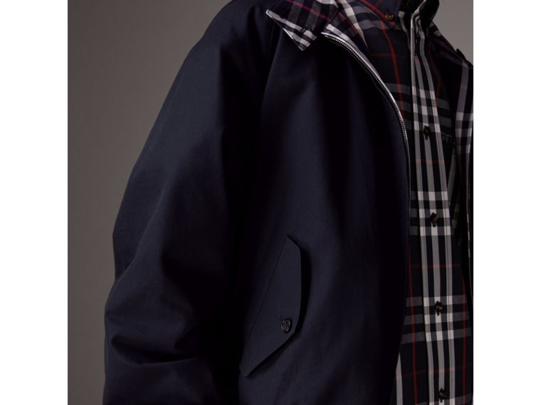 Gosha x Burberry Reversible Harrington Jacket in Navy | Burberry United Kingdom - cell image 1