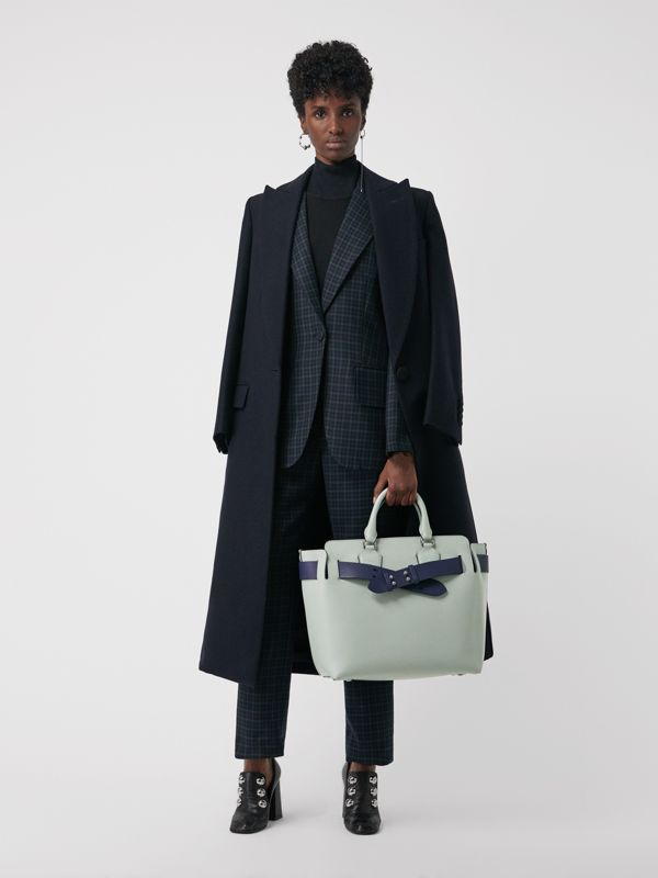 Sac The Belt moyen en cuir (Gris Bleu) - Femme | Burberry - cell image 2