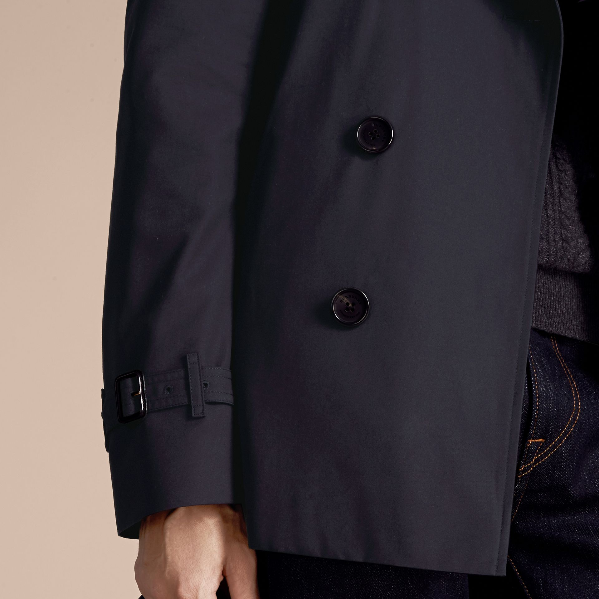 Navy The Kensington - Trench coat Heritage medio Navy - immagine della galleria 7