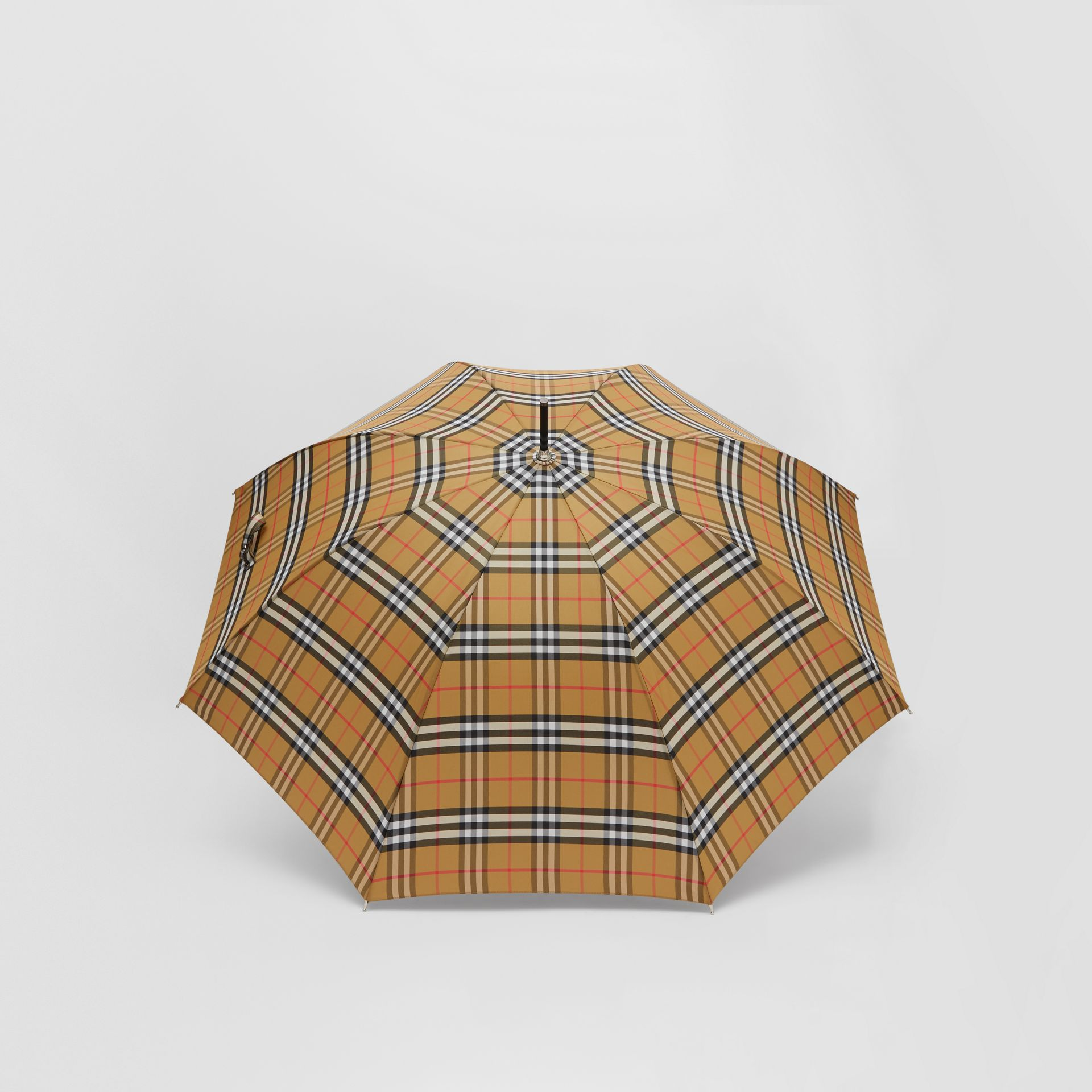 Vintage Check Umbrella in Archive Beige | Burberry Hong Kong S.A.R - gallery image 4