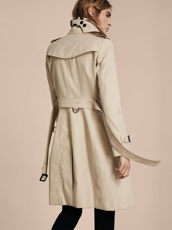 Stone The Chelsea – Long Heritage Trench Coat Stone - cell image 2