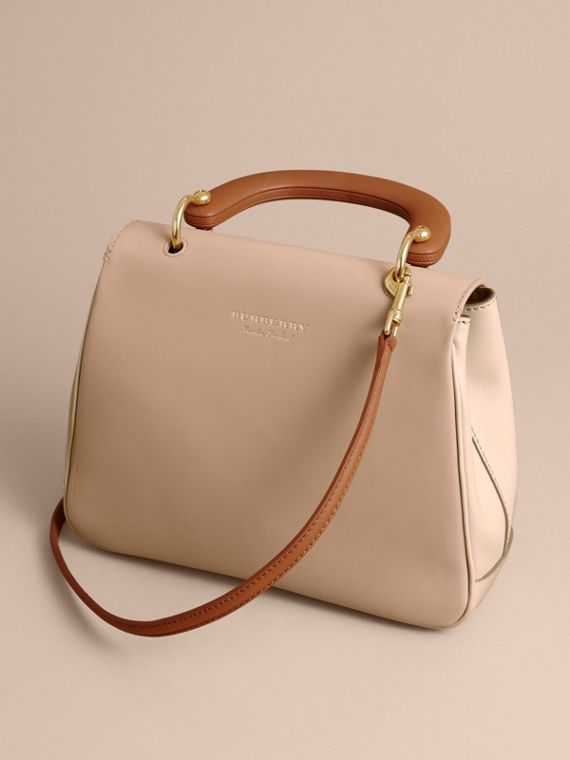 The Medium DK88 Top Handle Bag in Limestone/honey - Women | Burberry - cell image 2
