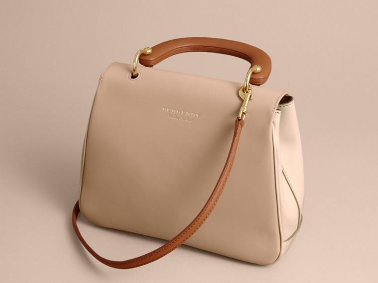The Medium DK88 Top Handle Bag Limestone/honey - cell image 4