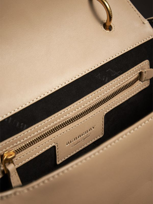 The Medium DK88 Top Handle Bag in Honey - Women | Burberry - cell image 3
