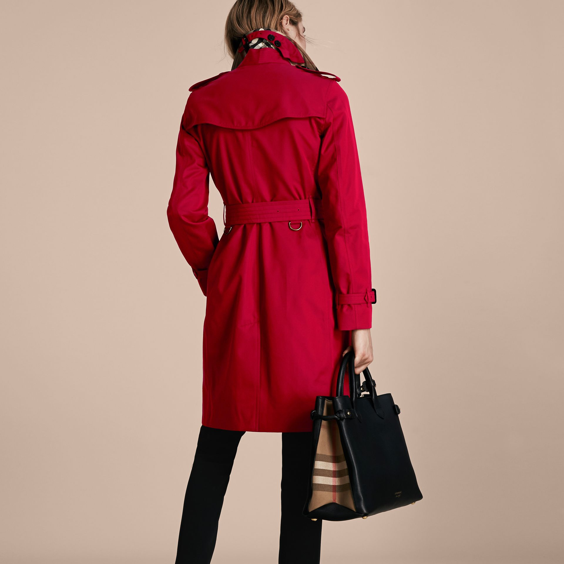 Parade red The Kensington - Trench coat Heritage longo Parade Red - galeria de imagens 3