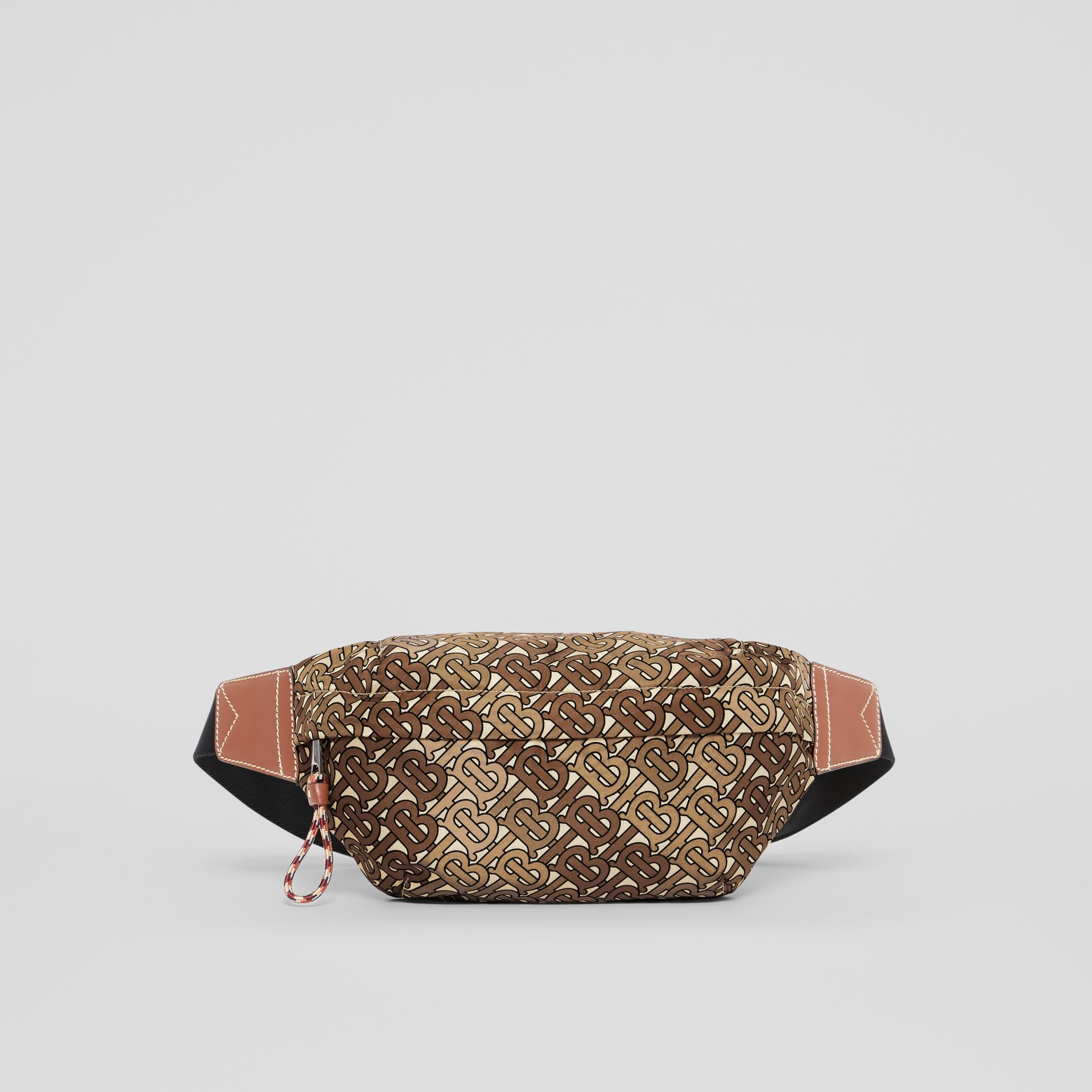 Medium Monogram Print Bum Bag in Camo Brown | Burberry United Kingdom - gallery image 0