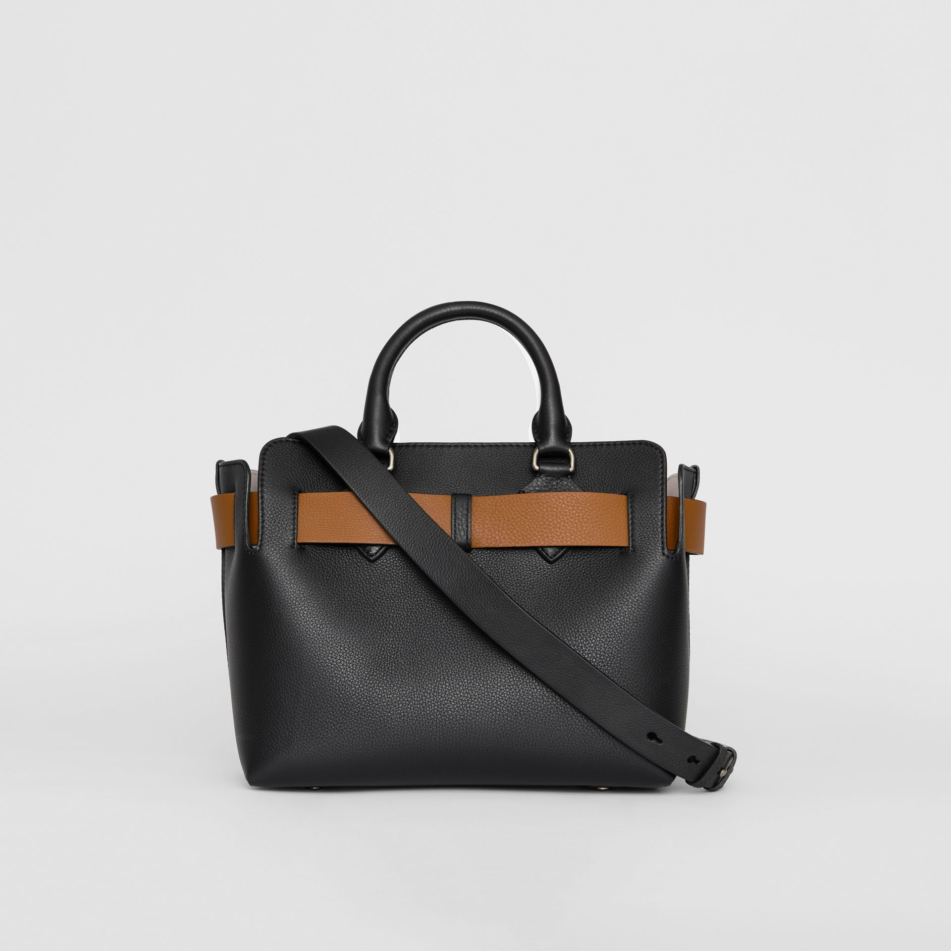 The Small Leather Belt Bag in Black - Women | Burberry Hong Kong S.A.R - gallery image 7