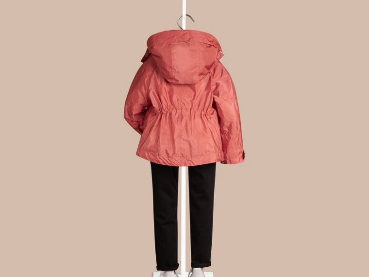 Bright copper pink Technical Jacket with Hood Bright Copper Pink - cell image 2