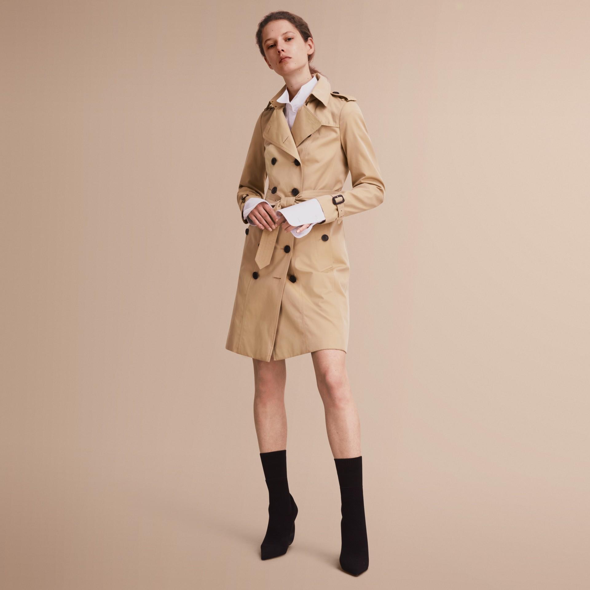 The Sandringham - Trench coat Heritage longo Mel - galeria de imagens 7
