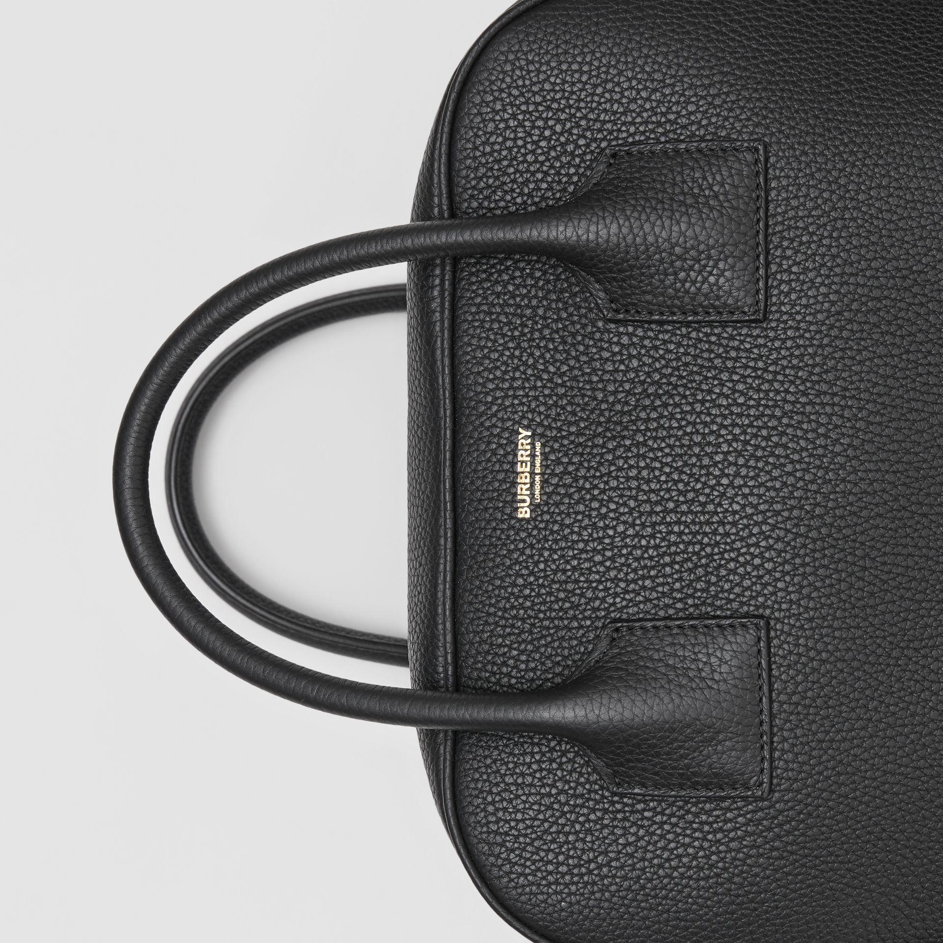 Medium Leather Cube Bag in Black - Women | Burberry Hong Kong S.A.R - gallery image 1