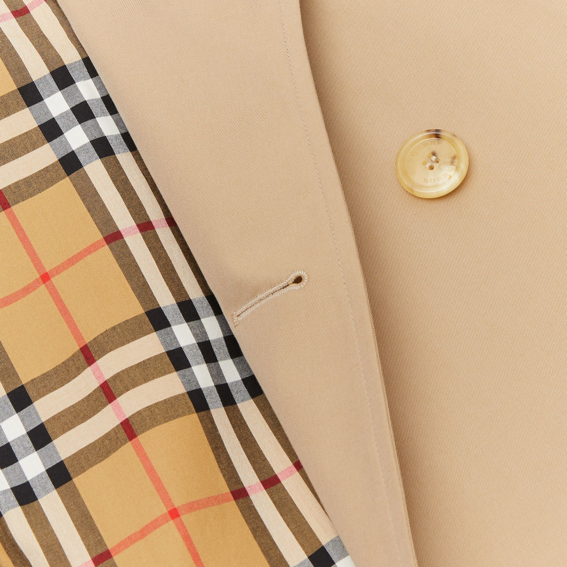 The Westminster Heritage Trench Coat in Honey - Women | Burberry Singapore - gallery image 9