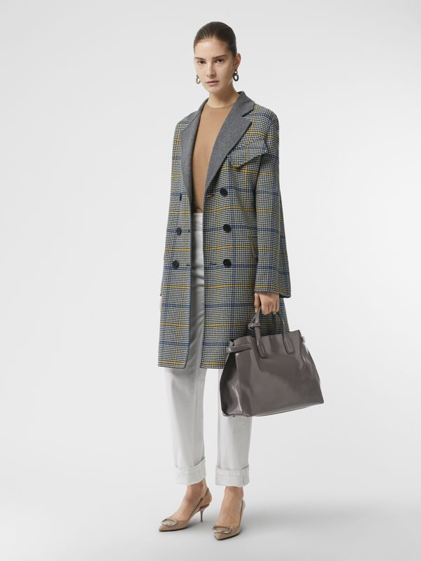 The Medium Soft Leather Banner in Sepia Grey - Women | Burberry Singapore - cell image 3