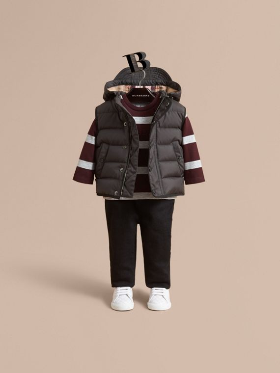 Down-filled Hooded Gilet | Burberry Australia