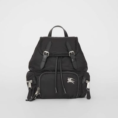 The Small Crossbody Rucksack In Puffer Nylon by Burberry