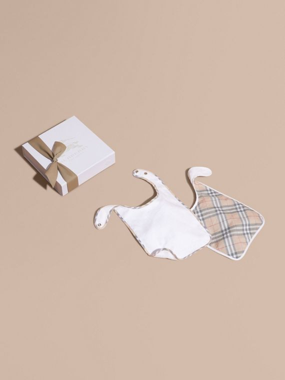 Cotton Two-piece Baby Gift Set | Burberry Australia