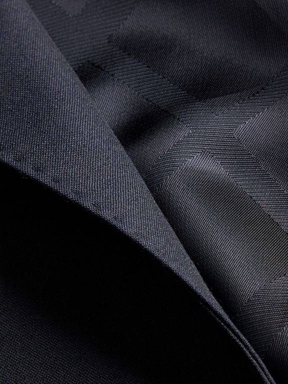 Modern Fit Wool Suit in Navy - Men | Burberry Canada - cell image 1