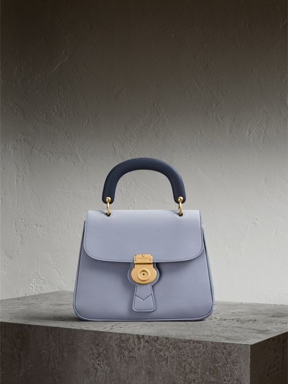 The Medium DK88 Top Handle Bag in Slate Blue - Women | Burberry