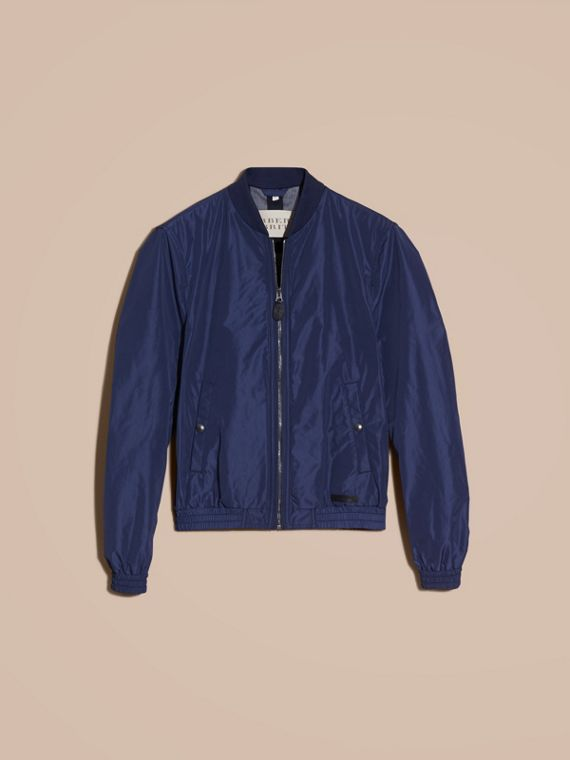 Jet blue Showerproof Bomber Jacket Jet Blue - cell image 3
