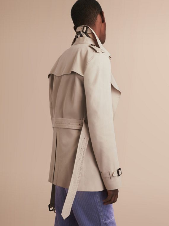 The Kensington – Short Heritage Trench Coat in Stone - cell image 2