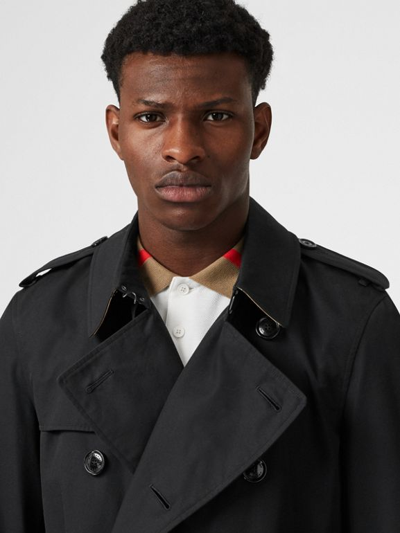 The Chelsea Heritage Trench Coat in Black - Men | Burberry Canada - cell image 1