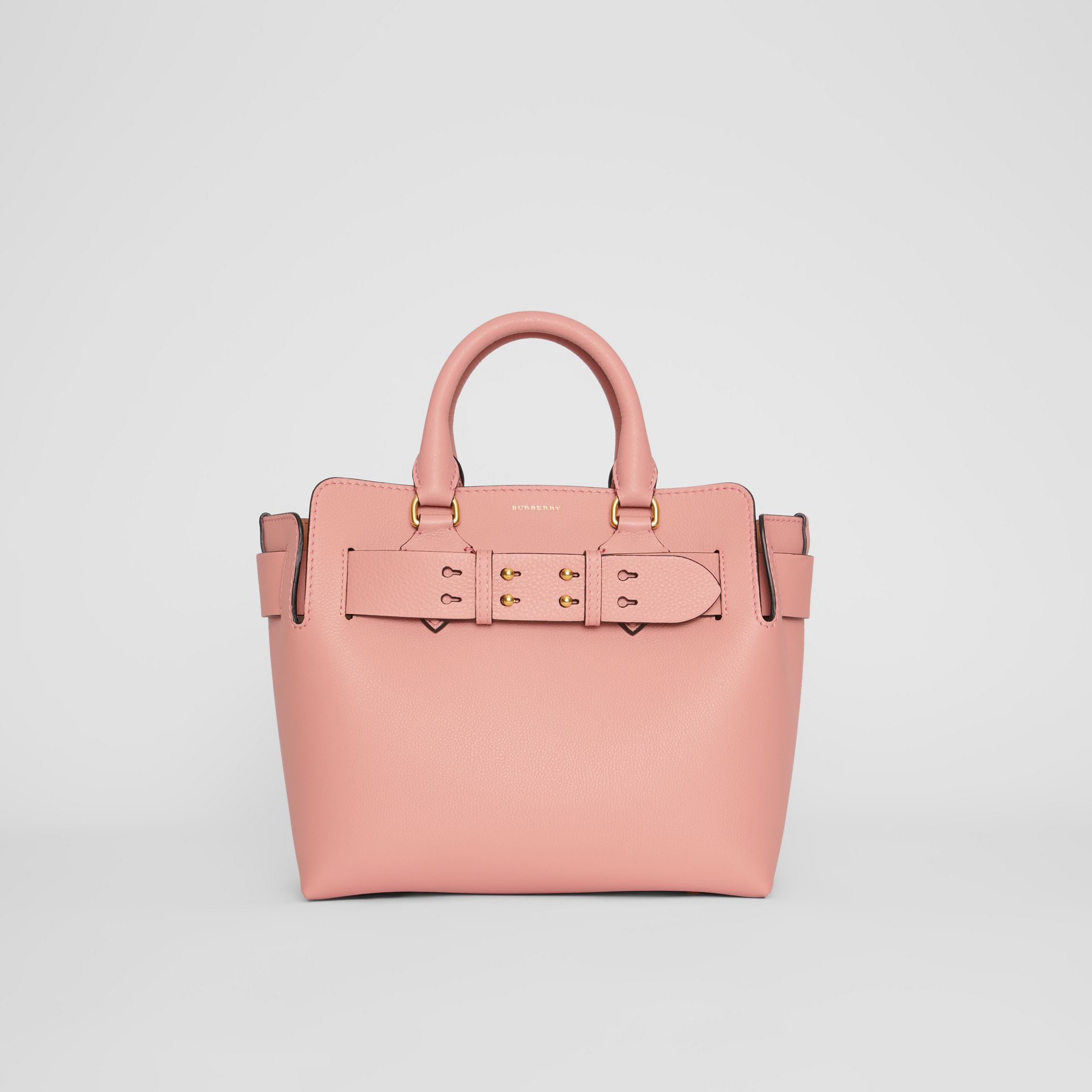 The Small Leather Belt Bag in Ash Rose - Women | Burberry - gallery image 0