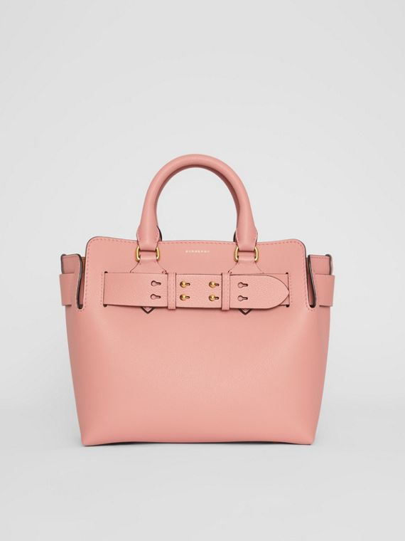 The Small Leather Belt Bag in Ash Rose