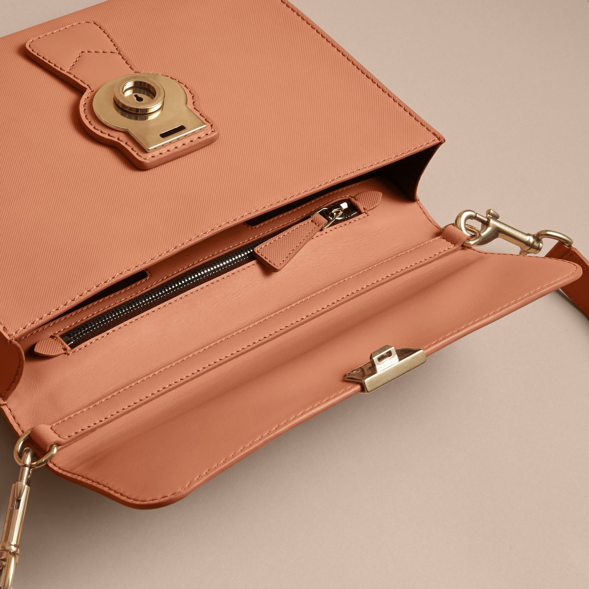 The DK88 Portfolio Case in Pale Clementine - Men | Burberry - gallery image 5