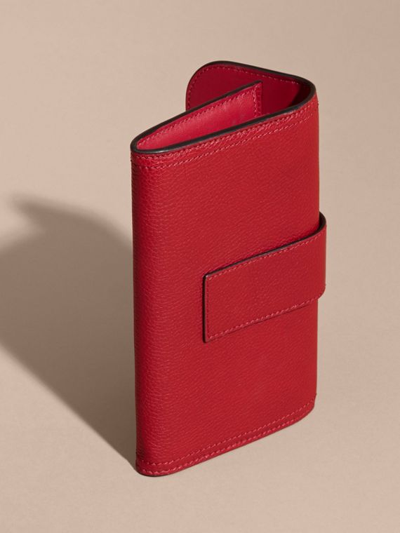 Textured Leather Continental Wallet Parade - cell image 2