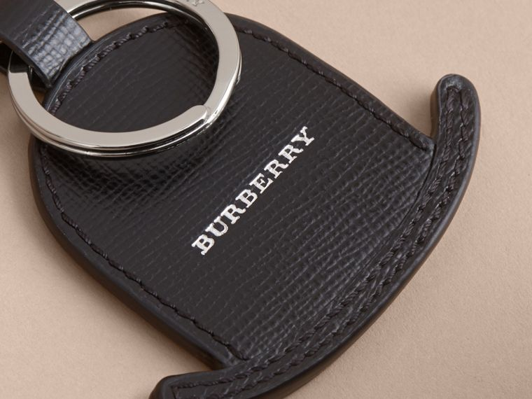 Leather Bowler Hat Key Ring - cell image 1