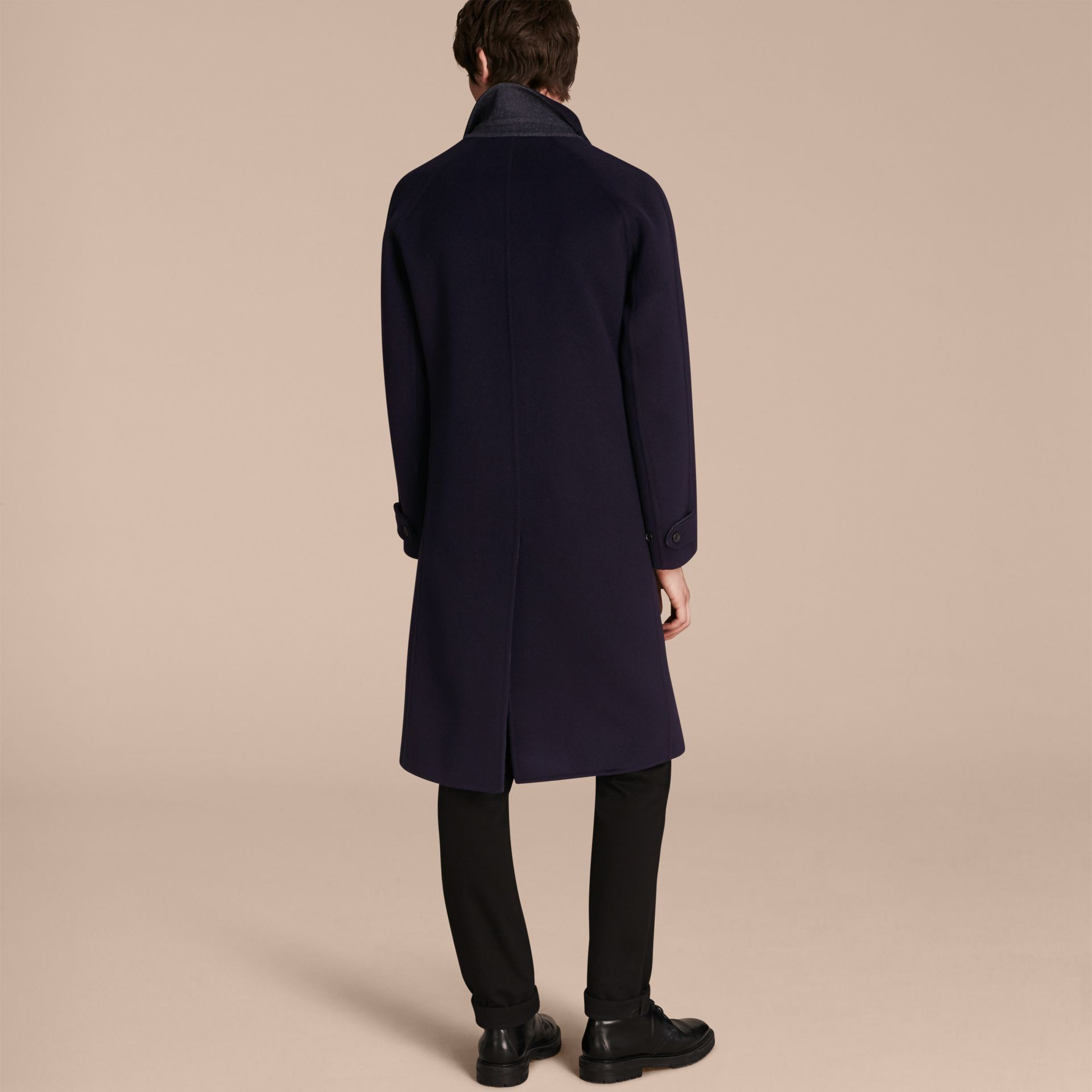 Double-faced Wool Car Coat - gallery image 3