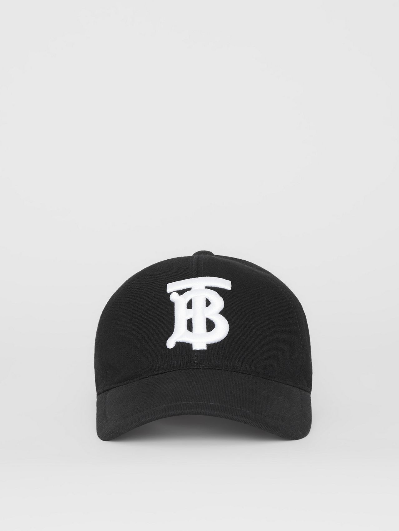 Monogram Motif Baseball Cap in Black