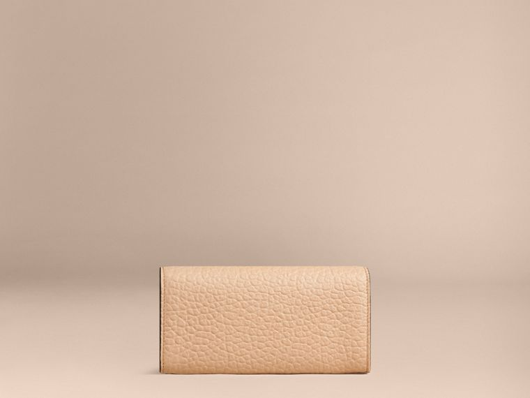 Pale apricot Signature Grain Leather Continental Wallet Pale Apricot - cell image 1