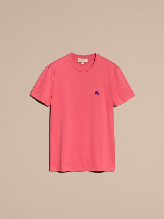 Cotton Jersey T-shirt Dusky Pink - cell image 3