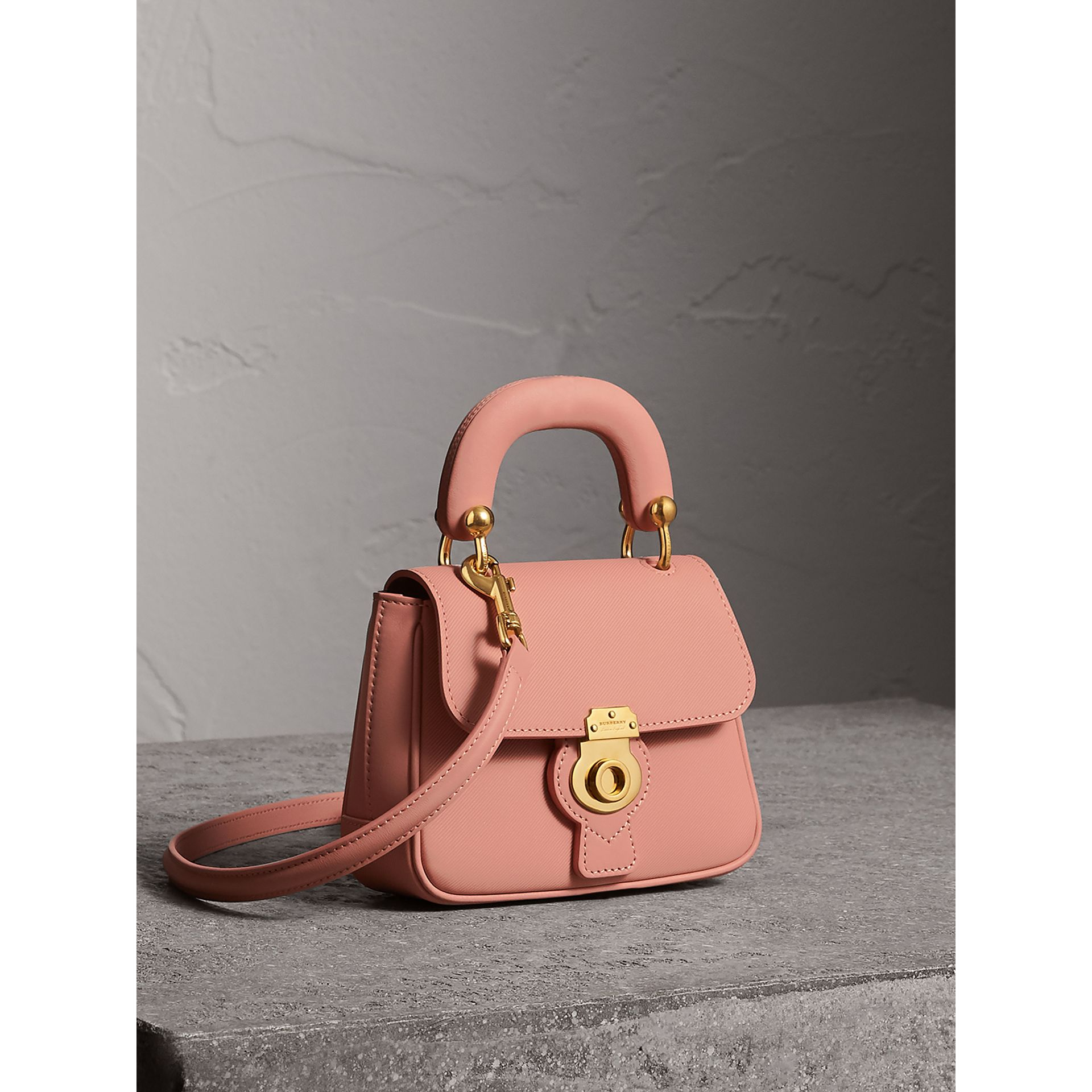 The Mini DK88 Top Handle Bag in Ash Rose - Women | Burberry United Kingdom - gallery image 7